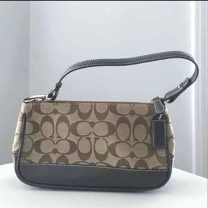 Coach monogram handbag